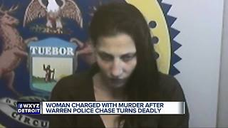 Woman charged with second-degree murder in crash that killed 19-year-old Detroit woman - Video