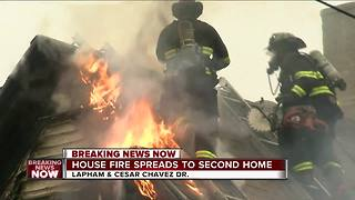 More than dozen people displaced after Milwaukee south side fire - Video