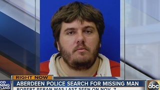 Aberdeen Police search for missing man - Video