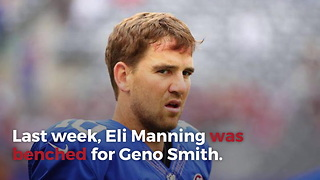 After Giants Fire Head Coach And General Manager, Eli Manning Might Start Again - Video