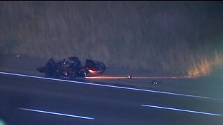 All lanes on SB I-75 at 7 Mile back open following fatal motorcycle crash