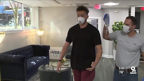 IV therapy business The Hydration Station opens downtown