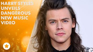 The secrets behind Harry Styles's new music video