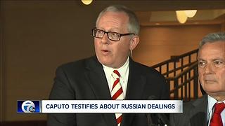 Michael Caputo testifies about Russian dealings - Video