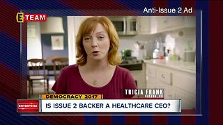 PolitiFact: Ad opposing Ohio Issue 2 wrongly portrays proponent as health care CEO - Video