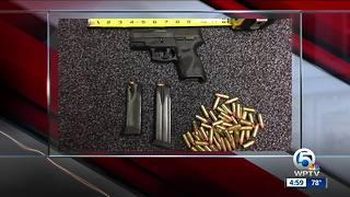 Student arrested after gun, 70 rounds of ammo found at Port St. Lucie High School