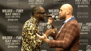 It All Kicked Off Again Between Tyson Fury And Deontay Wilder!!