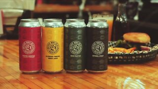 A new variety-pack of beer will help support local businesses