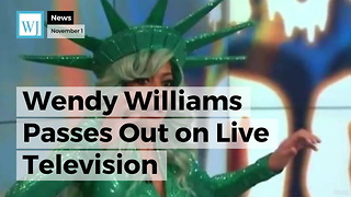 Wendy Williams Passes Out on Live Television - Video