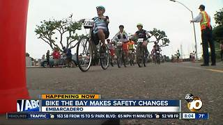 Bike the Bay makes safety changes