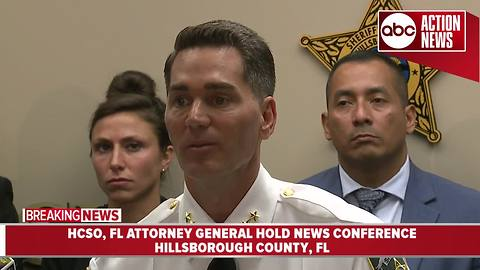 HCSO, FL Attorney General announce investigation into lottery scam | News Conference