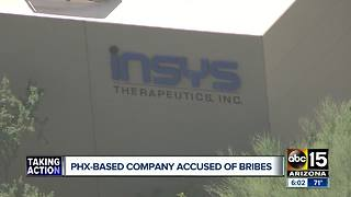 Phoenix-base company accused of bribes - Video