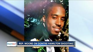 PolitiFact Wisconsin: Moore on Hamilton shooting - Video
