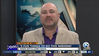 Five fun things to do this weekend (Aug 19 - 21) - Video