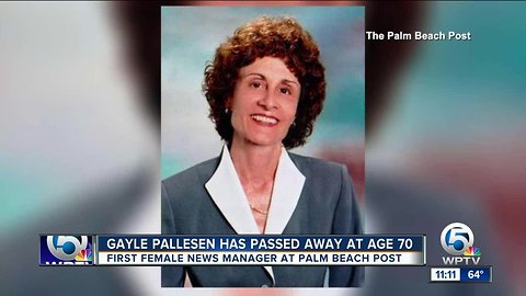 Gayle Pallesen: First female news manager at Palm Beach Post dies at 70