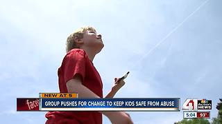 Group pushes for change to keep kids safe from abuse