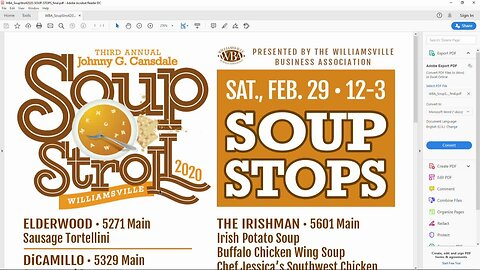 The Third Annual Soup Stroll