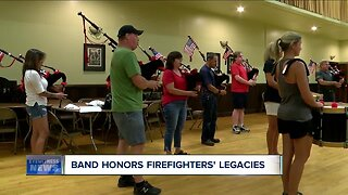 Greater Buffalo Firefighters Pipes and Drums Band honors lives lost