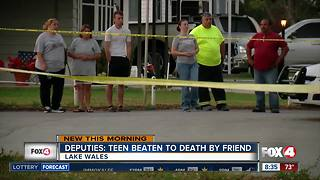 Deputies: teen beaten to death by friend - Video