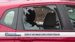 46 vehicles damaged during overnight break-ins in Cleveland Heights