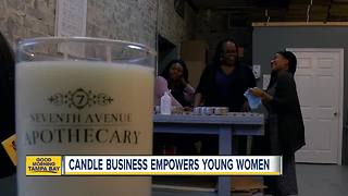 Tampa candle business empowers young women - Video