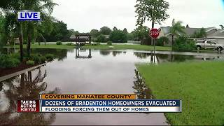 Sixty families displaced from Manatee Co. neighborhood - Video