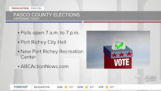 Pasco County elections happening Tuesday