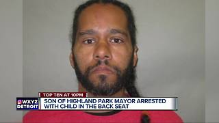 Son of Highland Park mayor arrested after being found unconscious behind wheel - Video