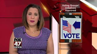 Board OKs petitions for voting - Video