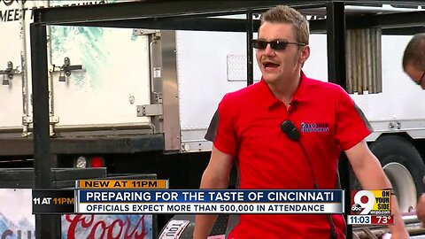 How do you prepare for the biggest, hungriest crowd in Cincinnati?