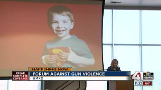 Mother of Sandy Hook victim talks gun violence, path forward for KC