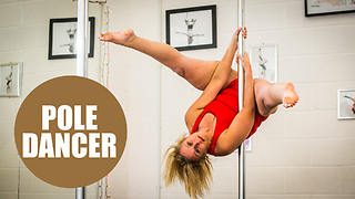 Amazing mum loses half her body weight after taking up pole dancing - Video