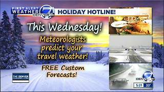 More snow in the 7 day forecast - Video