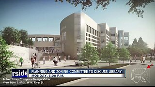 Area around library may be rezoned