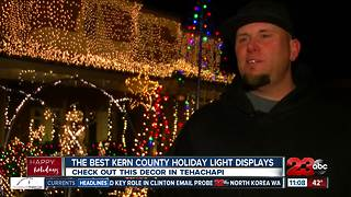 The best Kern County holiday light displays - Video