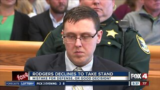 Was it a mistake that Jimmy Rodgers did not take the stand in his murder trial?