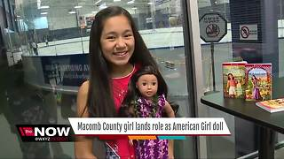 Macomb County girl lands roll as American Girl doll - Video