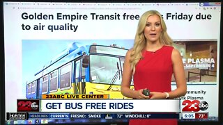 GET Bus offering free rides today