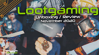 LootGaming Lootcrate | November 2020 Unboxing & Review