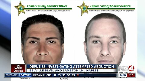 11-year-old says says two men approached her on way home from school in Naples
