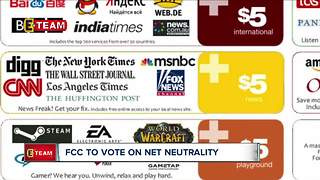 Federal Communications Commission vote nears on future of net neutrality - Video