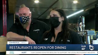 Restaurants reopen for dining after judge's ruling