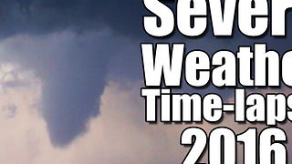 Time-lapse: 2016 Severe Weather Reports - Video