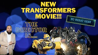 New TRANSFORMERS movie has a NEW director!! It's ....