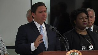 Governor DeSantis addresses health emergency