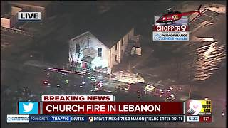 Interview with pastor of Bethel AME Church in Lebanon after church fire - Video