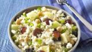 Mediterranean Couscous Salad - Video