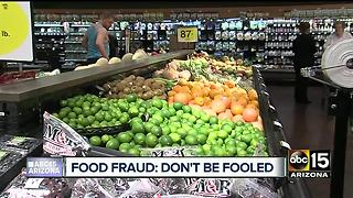 Food fraud: Take control of what you put in your body