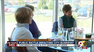 Public feud impacting city business? - Video