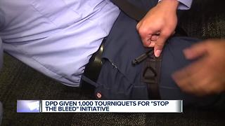 DPD given 1,000 tourniquets for Stop the Bleed initiative - Video